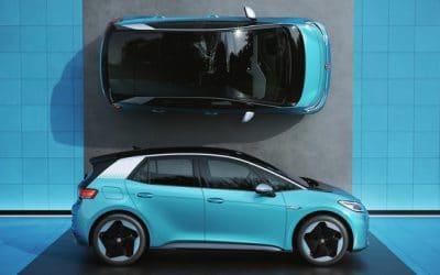 Volkswagen begint op 20 juli met Europese verkoop van elektrische ID.3-auto
